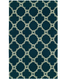 RugStudio presents HRI Bel Air 5080A-9 Blue Woven Area Rug