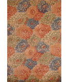 RugStudio presents Hri Botanical 2039 Multi - Blue Hand-Tufted, Good Quality Area Rug