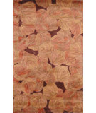 RugStudio presents Hri Botanical 2131 Brown Hand-Tufted, Good Quality Area Rug