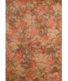 RugStudio presents Hri Botanical 2133 Multi - Blue Hand-Tufted, Good Quality Area Rug