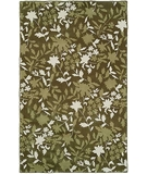 RugStudio presents HRI Camelot II 14 Green Hand-Tufted, Better Quality Area Rug