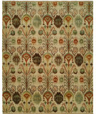 RugStudio presents Hri Creative Ik-156 Beige Hand-Knotted, Good Quality Area Rug