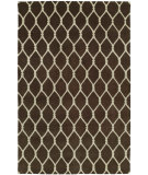 RugStudio presents Hri Dimension V-1001 Brown - Ivory Hand-Knotted, Good Quality Area Rug