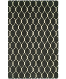 RugStudio presents Hri Dimension V-1001 Charcoal - Ivory Hand-Knotted, Good Quality Area Rug