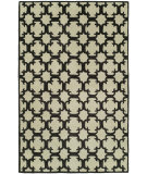 RugStudio presents Hri Dimension V-1003 Ivory - Grey Hand-Knotted, Good Quality Area Rug