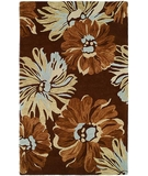 RugStudio presents HRI Inspiration 3586 Brown 44 Hand-Tufted, Best Quality Area Rug