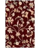 RugStudio presents HRI Inspiration 3665 Burgundy 82 Hand-Tufted, Best Quality Area Rug