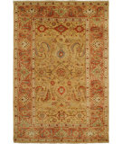 RugStudio presents Hri Mahal MJ-15 Gold - Rust Hand-Knotted, Best Quality Area Rug