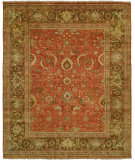 RugStudio presents Hri Mahal MJ-15 Rust - Brown Hand-Knotted, Best Quality Area Rug