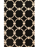 RugStudio presents Hri Metro CC-3005 Black Hand-Tufted, Good Quality Area Rug