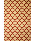 RugStudio presents Hri Metro CC-3020 Ivory - Rust Hand-Tufted, Good Quality Area Rug