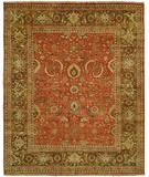 RugStudio presents HRI Mahal MJ-15 Rust Brown Hand-Knotted, Best Quality Area Rug