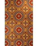 RugStudio presents HRI New Vision 3614 Light Gold Hand-Tufted, Good Quality Area Rug