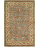 RugStudio presents Hri Newburry Ch-9 Light Blue - Ivory Hand-Knotted, Good Quality Area Rug