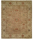 RugStudio presents Rugstudio Sample Sale 20310R Brown-Beige Hand-Knotted, Best Quality Area Rug