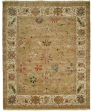 RugStudio presents HRI Newburry CH-7 Light Gold-Ivory Hand-Knotted, Best Quality Area Rug