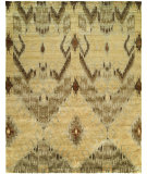 RugStudio presents HRI Noble 9178 Gold Hand-Knotted, Good Quality Area Rug