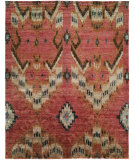RugStudio presents HRI Noble 9178 Red Hand-Knotted, Good Quality Area Rug