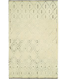 RugStudio presents Hri Oasis OS-3 Ivory - Brown Hand-Knotted, Good Quality Area Rug
