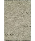 RugStudio presents Hri Oasis OS-4 Grey - Brown Hand-Knotted, Good Quality Area Rug