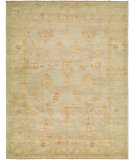 RugStudio presents Hri Ottoman 115 Light Blue - Camel Hand-Knotted, Best Quality Area Rug