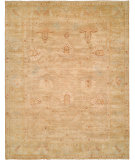 RugStudio presents Hri Ottoman 116 Camel - Gold Hand-Knotted, Good Quality Area Rug