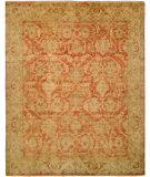 RugStudio presents HRI Oushak B-260 Rust - Gold Hand-Knotted, Good Quality Area Rug