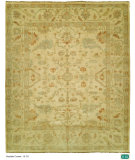 RugStudio presents Hri Oushak B-70 Ivory/Ivory Hand-Knotted, Good Quality Area Rug