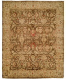 RugStudio presents Hri Oushak B-260 Brown/Beige Hand-Knotted, Good Quality Area Rug