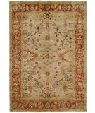 RugStudio presents HRI Peshawar P-15 Beige Rust Hand-Knotted, Best Quality Area Rug