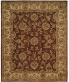 RugStudio presents Hri Palace 1765 Brown - Beige Hand-Tufted, Good Quality Area Rug