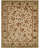 RugStudio presents HRI Palace 1739 Ivory Hand-Tufted, Better Quality Area Rug