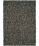RugStudio presents HRI Pebbles Pe-4 Black Hand-Tufted, Best Quality Area Rug