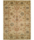 RugStudio presents Hri Peshawar P-5 Ivory - Beige Hand-Knotted, Best Quality Area Rug
