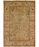 RugStudio presents Hri Peshawar P-6 Ligh Blue - Ivory Hand-Knotted, Good Quality Area Rug