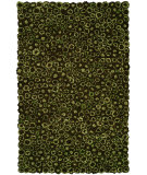 RugStudio presents HRI Romeo 3 Green Hand-Tufted, Best Quality Area Rug