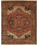 RugStudio presents Rugstudio Sample Sale 20325R Rust Hand-Knotted, Best Quality Area Rug