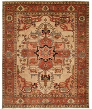 RugStudio presents HRI Serapi Heritage SH-16 Ivory A Hand-Knotted, Best Quality Area Rug