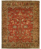 RugStudio presents HRI Serapi Heritage SH-20 Red-Gold A Hand-Knotted, Best Quality Area Rug