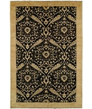 RugStudio presents HRI Serenity 196 Black Hand-Knotted, Best Quality Area Rug