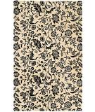 RugStudio presents HRI South Beach 7746A Black Ivory Hand-Tufted, Best Quality Area Rug