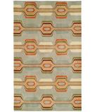 RugStudio presents Hri South Beach 81605A Light Blue Hand-Tufted, Best Quality Area Rug