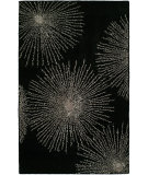 RugStudio presents HRI Sunrise Ss-03 Black Hand-Tufted, Better Quality Area Rug