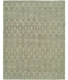 RugStudio presents Hri Vogue 20-C Grey - Ivory Hand-Knotted, Good Quality Area Rug