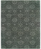 RugStudio presents Hri Vogue 28 Charcoal - Grey Hand-Knotted, Good Quality Area Rug