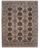 RugStudio presents Jaipur Rugs Connextion By Jenny Jones - Signature CS02 Soft Gray Hand-Knotted, Good Quality Area Rug
