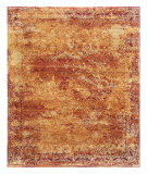 RugStudio presents Rugstudio Sample Sale 69956R Pumpkin Hand-Knotted, Good Quality Area Rug