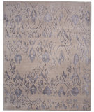RugStudio presents Jaipur Rugs Connextion By Jenny Jones - Global CG03 Classic Gray Hand-Knotted, Good Quality Area Rug