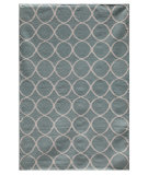 RugStudio presents Rugstudio Sample Sale 70007R Light Turquoise Flat-Woven Area Rug