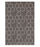 RugStudio presents Jaipur Rugs Maroc MR02 Liquorice Flat-Woven Area Rug